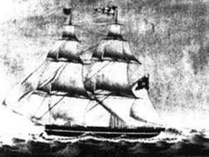 Statek Brig Caroline